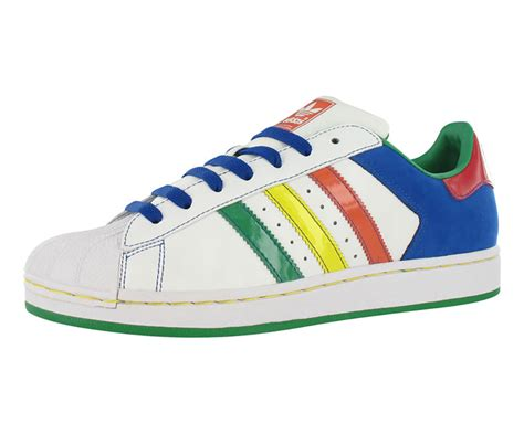 adidas superstar ii cb mens shoes white multi color size ebay