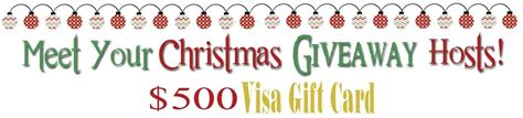 Give Cheer Visa Gift Card - extra cash for christmas 500 visa gift card giveaway