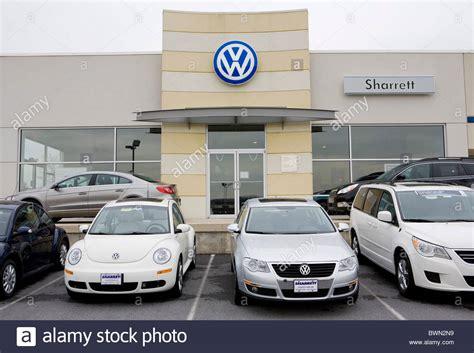 volkswagen car dealership a volkswagen car dealership stock photo royalty free