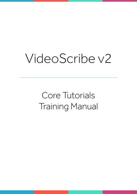 Videoscribe Tutorial V2   videoscribe v2 training manual by kiboecontor issuu