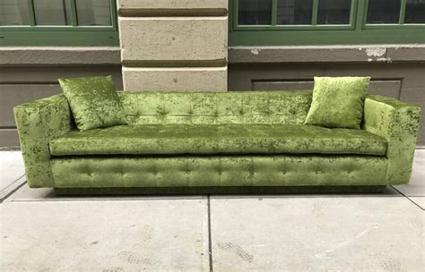 green velvet tufted sofa custom tufted green velvet sofa flavor custom design for