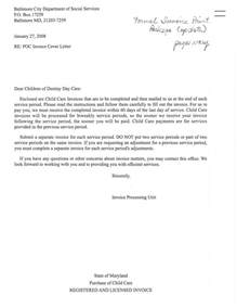 Invoice Cover Letter by Invoice Cover Letter