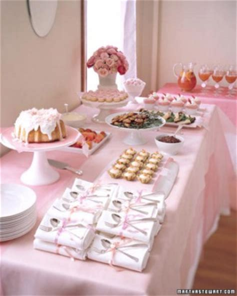 pink bridal shower themes 2 bridal showers martha stewart weddings