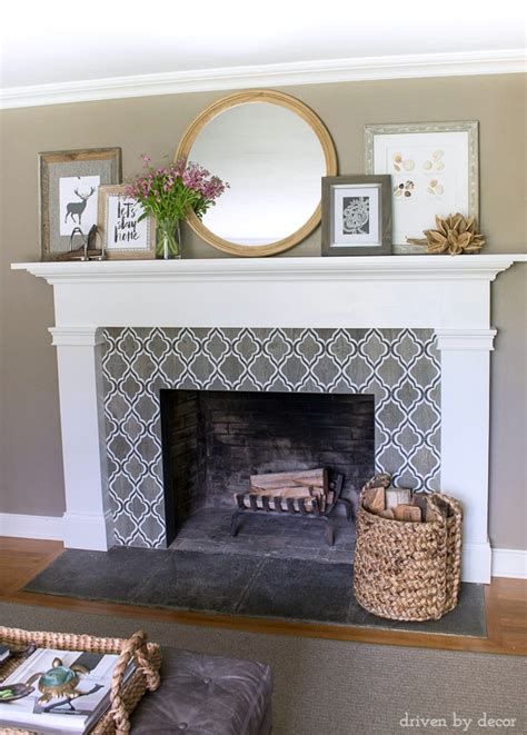 Decorative Tile For Fireplace by 2016 Summer Home Tour Driven By Decor