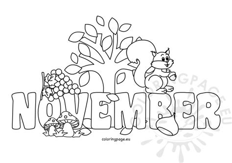 coloring pages for november november coloring sheet printable coloring page