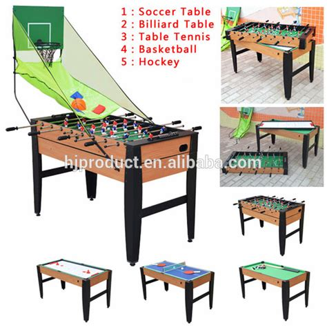 best selling cheap indoor sports 5 in 1 functions pool