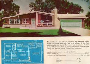 Home Design Vintage Style by Retro 1950 House Floor Plans House Design And Decorating