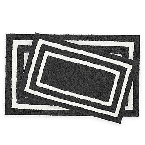 Black And White Bathroom Rugs by Black And White Bathroom Rug Sets