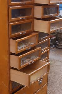 Antiques Atlas   Retro Haberdashery Cabinet Multi Drawer