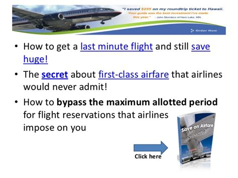 student discount on airfare