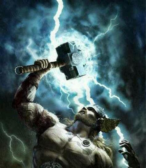 ancient god thor thor norse god of thunder son of odin norse