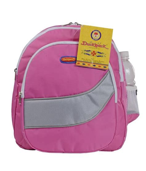 duckback micky pink baby school bag buy duckback micky