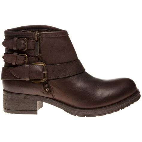 cheap womens brown wrangler buckle boots at