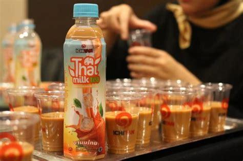 Ichitan Thai Milk Tea Drink 310ml ichitan raining gold bars on lucky rtd tea