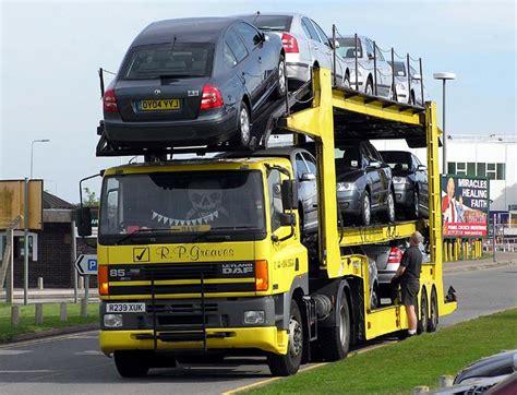 truck car semi trailer truck