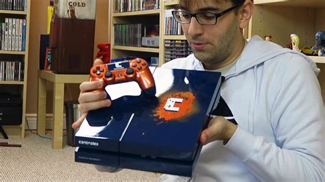 unboxing playstation  customizado ps  controle dois