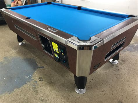 used valley pool table table 080317 valley coin operated pool table used coin