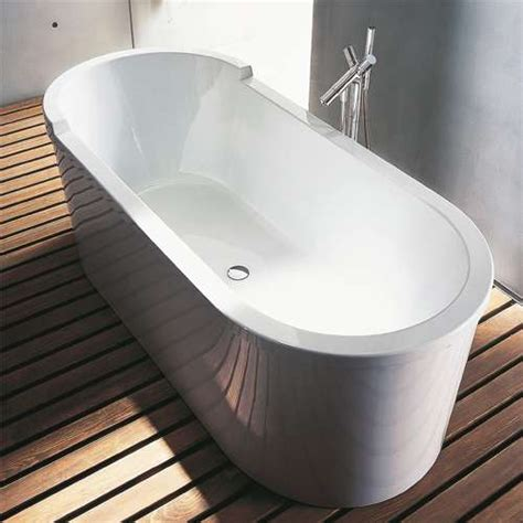 oval freestanding starck bathtub by duravit ybath