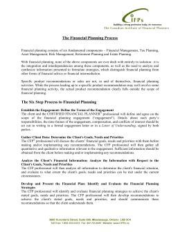 Finance Engagement Letter financial planning engagement letter