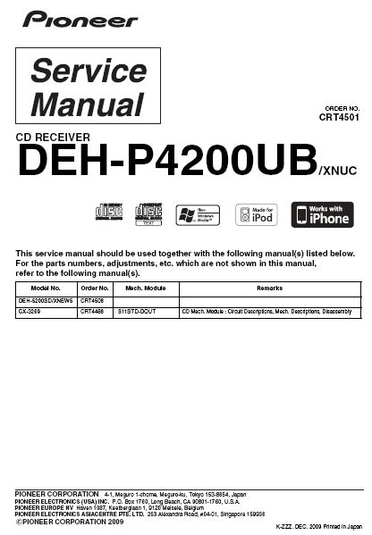 wiring diagram for pioneer deh p4200ub get free image