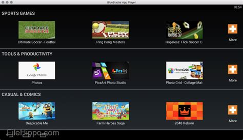 bluestacks for mac descargar bluestacks appplayer for mac 2 0 0 7 filehippo com