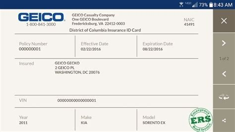 free auto insurance card template auto insurance card template free best business