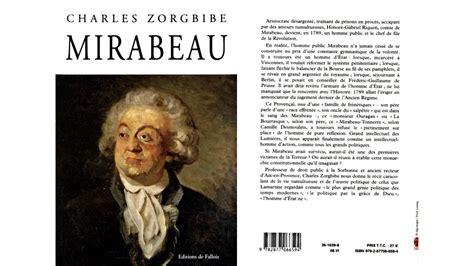 mirabeau de le comte de mirabeau 1789 1791 r 233 volution fran 231 aise