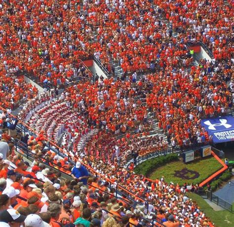 auburn football student section best 25 auburn football stadium ideas on pinterest