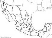 outline map of mexico and the us mexico map zoomschool