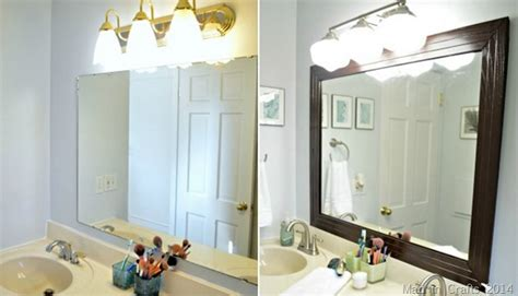 Frame A Bathroom Mirror With Molding by Bathroom Mirror Frames And How To Get Them Custom Made