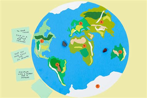 crafts around the world around the world highlights