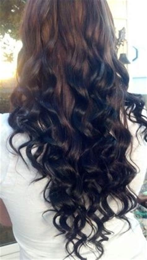 reverse ombre but only at the very bottom chocolate to black reverse ombre hair styles pinterest