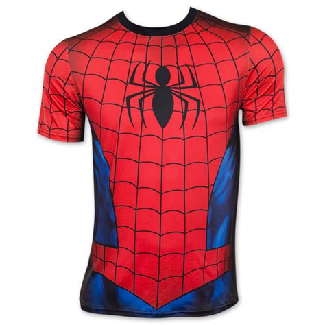 Tshirt Spederman spider and blue sublimated costume t shirt