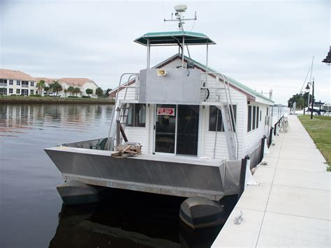 house boat florida pontoon house boat for sale in sw florida sold
