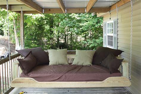 outdoor swing bed plans decor ideasdecor ideas