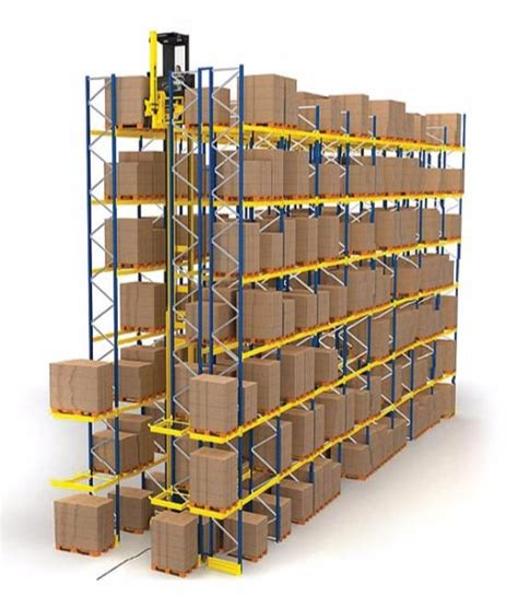 Vna Pallet Racking System by Vna Narrow Aisle Pallet Racking Storage System