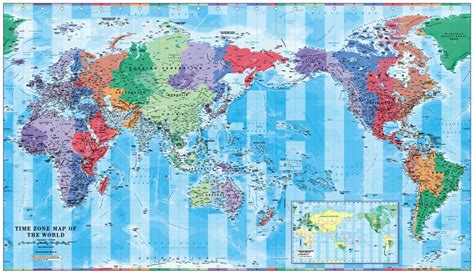 pacific time zone map pin pacific centered world map on