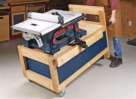 wood table saw stand table saw stand