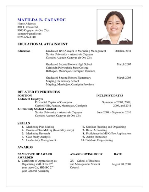 how to do resume for uxhandy