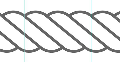 svg rope pattern drawing vector rope in illustrator illustrator cs6