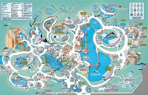 seaworld orlando map seaworld orlando a theme park in orlando florida travel featured