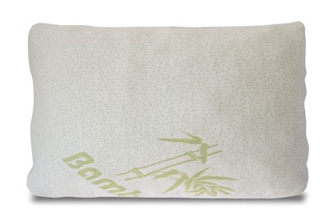 bamboo memory foam lumbar pillow