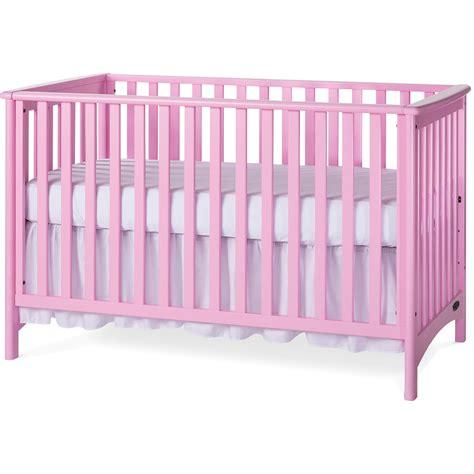 European Crib Mattress by Child Craft Crib In Princess Pink