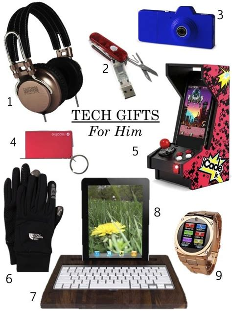 unique tech gifts cool tech gifts for guys tech toys pinterest tech