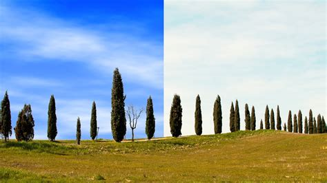 photoshop tutorial how to replace a sky in a photo