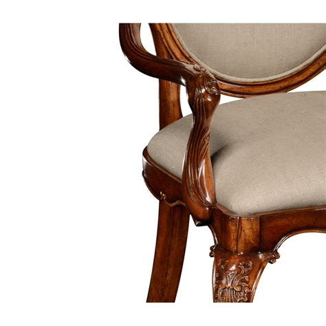upholstered armchair dining upholstered dining armchair carved swanky interiors