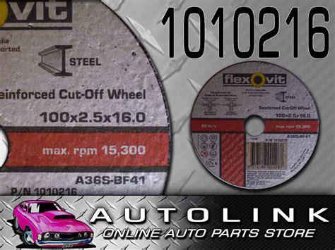 Cutting Wheels 4 X 2 X 16 Harga Bisa Dinegosiasi flexovit reinforced cutting wheel 4 quot 100 x 2 5 x 16 0 flat cut wheel x5