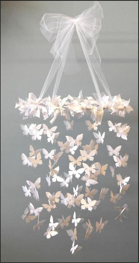 Diy Wedding Chandelier C R A F T Y Diy Swarming Butterfly Chandelier 163748 On Wookmark
