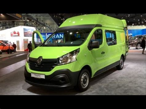 renault trafic 2016 interior renault trafic high roof 2016 in detail review walkaround