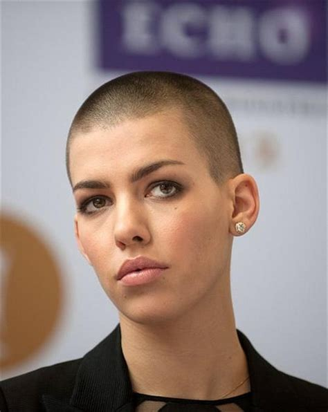 womens buzzed and bold haircuts chic and edgy short hairstyles for women hairstyles 2018